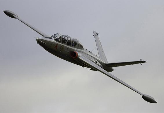 avion de chasse fouga magister