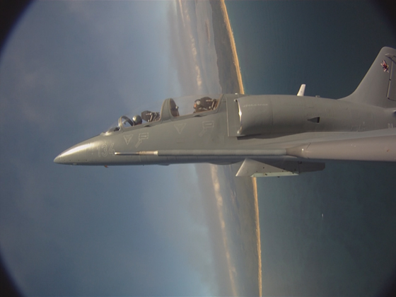 vol avion chasse