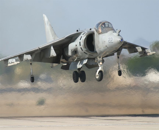 harrier vstol