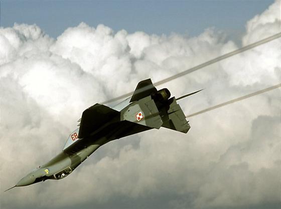avion de chasse Mig 29