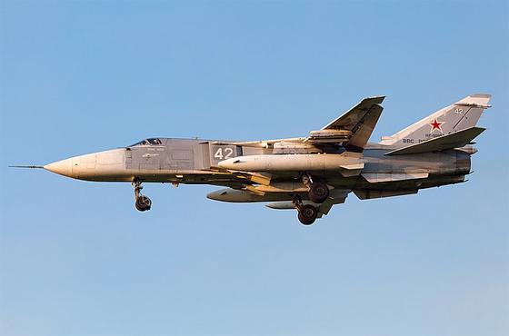 avion de chasse sukhoi su 24