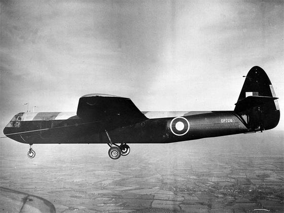 planeur bombardier