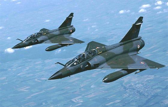 avion de chasse mirage 2000