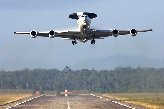 avion radar e-3f