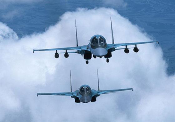 avion de chasse russe